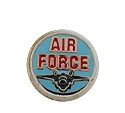 Air Force - Enamel Charm